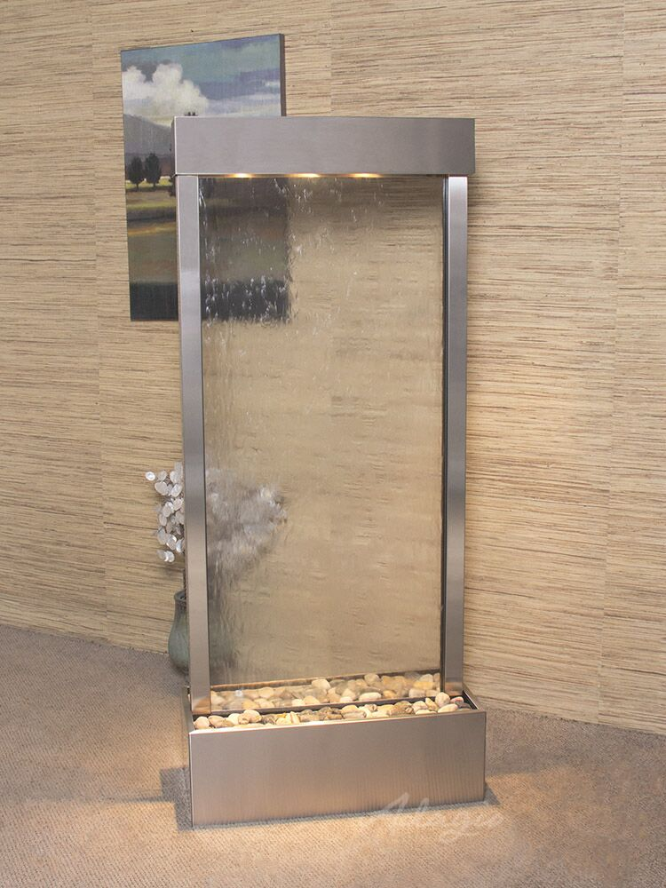 Harmony River Center Mount  Stainless Steel Clear Glass